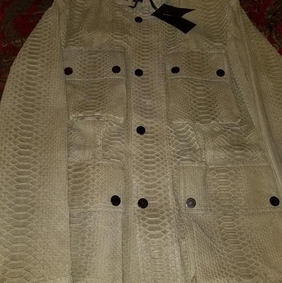 46f41a6bd Belstaff Exotic Skin Men's Leather Jacket NWT
